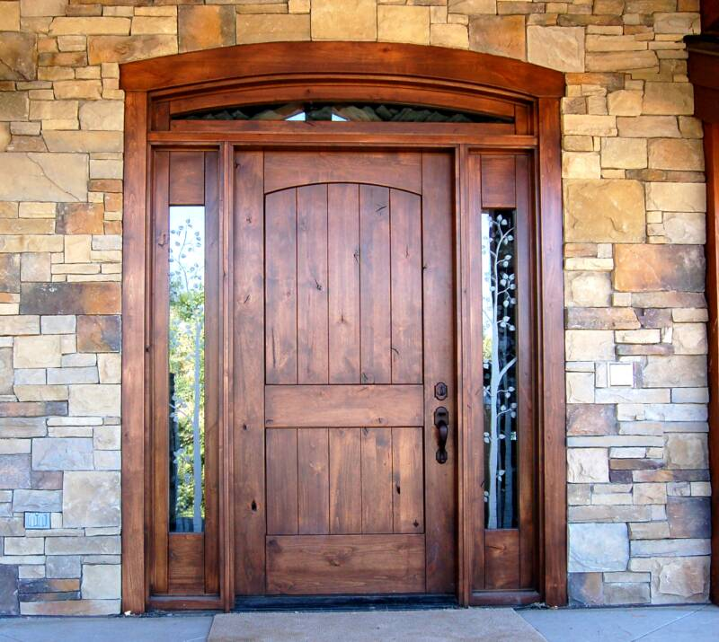 Exterior Front Doors with Side Lights 800 x 715